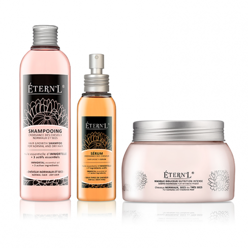 Etern'l Shampooing, sérum, masque