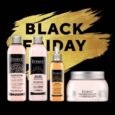 BLACK FRIDAY Etern'l Shampooing, sérum, baume et masque