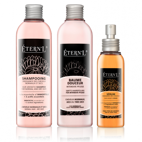 Etern'l double set: Shampooing, serum et baume